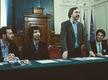 Rieti, con il Sindaco Pietrangeli e i Motus Trio