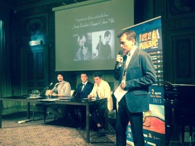 @Ambasciata di Lussemburgo with Michel Grethen, Alessandro Mastrogregori, Tony La Torre