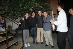 Fara Music 2008, with John Arnold, Greg Burk, George Garzone