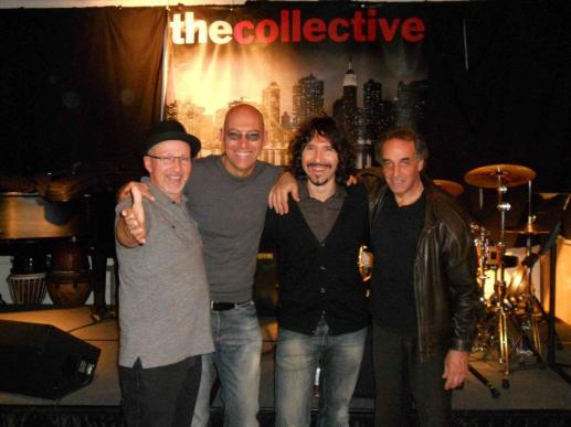 Collective School of Music, New York 2011, with Lincoln Goines, Fabio Zeppetella, Kim Plainfield