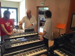 Tube Recording Studio 2015, with Francesco Lupi and Vittorio Mezza