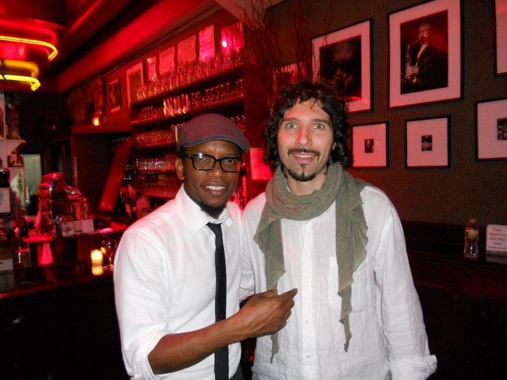 @Birdland, New York 2010, with Aruan Ortiz