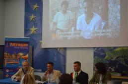 Commissione Europea wit T. Leggio, A. Mastrogregori, T. La Torre