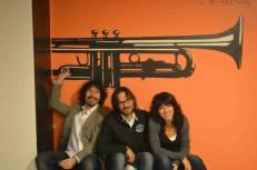Scuola di Musica di Fara in Sabina with Francesco Lupi and Stefania Polletin