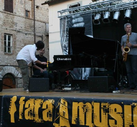 Sound Check, Fara Music Festival 2010, with Russell Ferrante and Bob Mintzer