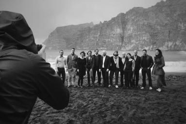 with Odradek Records Team, Tenerife