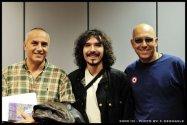 Radio Rai 1, 2010, with Danilo Rea and Fabio Zeppetella