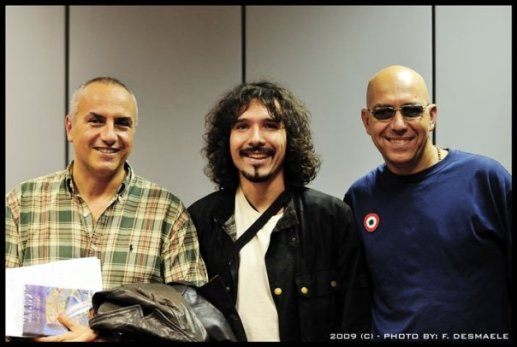 Radio Rai 1, 2010, with Danilo Rea and Fabio Zeppetella