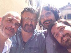 @Fara Music Summer School 2014, with Claudio Fabro, Andrea Rodini, Bernardo Nardini