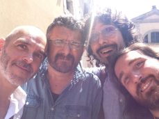 @Fara Music Summer School 2014, with Claudio Fabro, Andrea Rodini, Bernardo Nardini