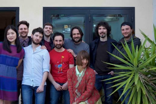 @Tube Recording Studio, with Mynah, Francesco Lupi and Tube'staff