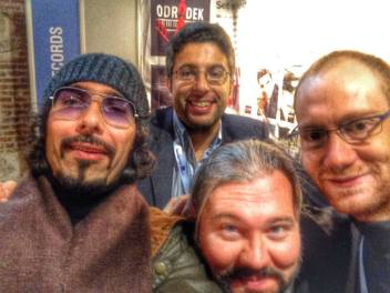 @Expo Clasica, Madrid, with John Anderson of Odradek Records
